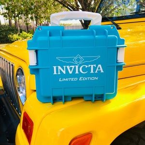 Limited Edition Teal Invicta Watch Case